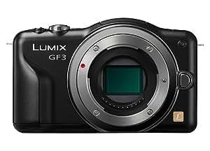Panasonic Lumix DMC-GF3EG-K Systemkamera (12 Megapixel, 7,5 cm (3 Zoll) Touchscreen, LiveView, bildstabilisiert) schwarz