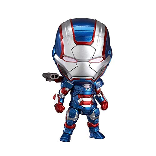 Iron Man 3: Iron Patriot: Heldenedition Nendoroid Action Figure-4in