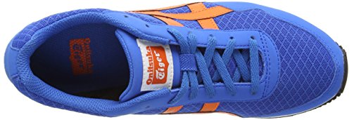 Onistuka Tiger Curreo, Chaussures Multisport Outdoor Mixte adulte Bleu (Mid Blue/Orange 4209)