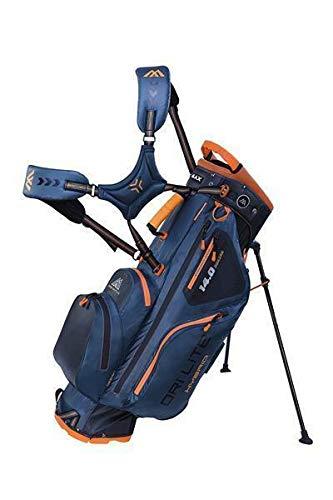 Big Max Dri Lite HYBRID Golf Cartbag & Standbag - Wasserabweisend - 2019 - Petrol/Black/Orange