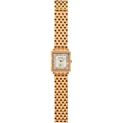 Charmex Women's Paris 30mm Rose Gold-Tone Steel Bracelet & Case Quartz White Dial Analog Watch 6060