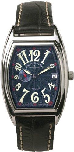 Zeno-Watch Orologio Donna - Tonneau Retro Automatico - 8081-9-h4