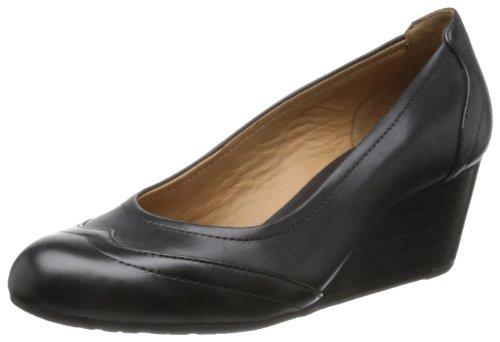 Clarks Burmese Rose, Ballerines femme Noir (Black Leather)