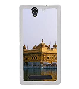 Golden Temple 2D Hard Polycarbonate Designer Back Case Cover for Sony Xperia C3 Dual :: Sony Xperia C3 Dual D2502