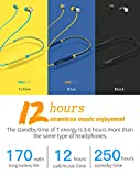 RKTech Bluedio TN 12 HRS Music Play Deep Bass Active Noise Cancelling Bluetooth 4.2 Wireless Earphone with Magnetic Sweatproof Earbuds with Mic