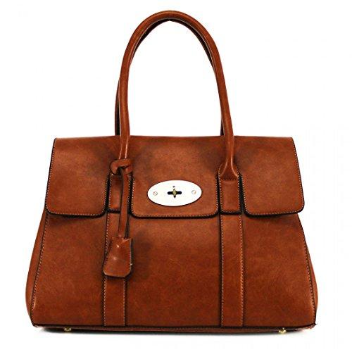 YourDezire , Damen Tote-Tasche L, - braun - Größe: L