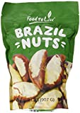 Noci del Brasile, 2 Libbre - Senza Guscio, Kosher, Crude, Vegane, Sfuse