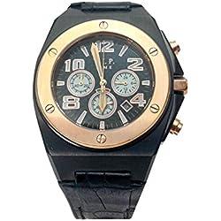 V.I.P Time Clock Black And Steel Pink