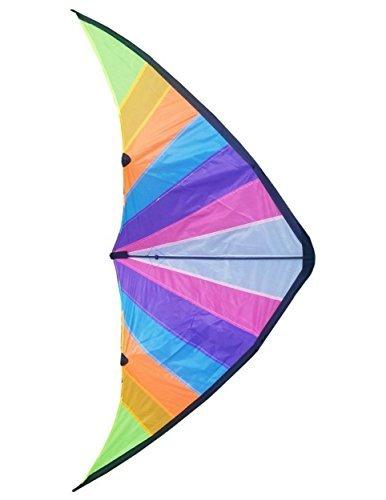 IBS Stunt Kite-160x 80cm Dual Line Kite, lebendige und lebhafte Farben-Stunt Kites für Outdoor Fun-Dual Line Stunt Kites Einsteiger Stunt Kite