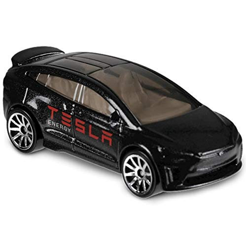 Hot Wheels 2018 Tesla Model X Black 5/10 HW Metro 328/365 (Short Card)