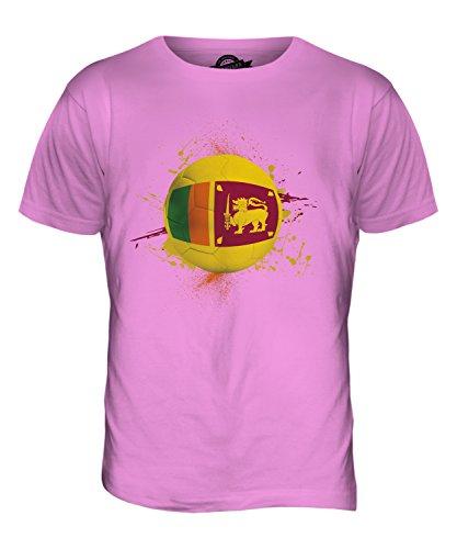 CandyMix Sri Lanka Fußball Herren T Shirt Rosa