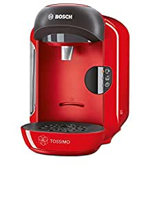 bosch tassimo vivy tas1253gb coffee machine 1300 watt 0 7 litre red kitchen. Black Bedroom Furniture Sets. Home Design Ideas