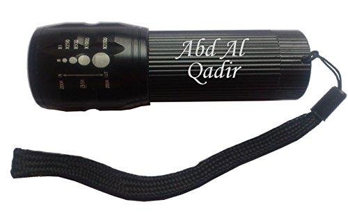 engraved-flashlight-with-text-abd-al-qadir-first-name-surname-nickname