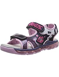 Geox J Sandal Android Gir, Sandales  Bout ouvert fille