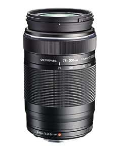 Olympus EZ-M7530 M.Zuiko Digital 75-300mm 1:4.8-6.7 Objektiv II (Micro Four Thirds, 58mm Filtergewinde) schwarz