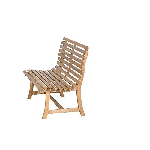 Siena Garden 2er Bank Santana, 67,5x140x92,5cm, Akazienholz, geölt in natur, FSC 100% - 3