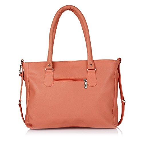 Flora Pu Leather Women's Handbag And Wallet Clutch Combo ...