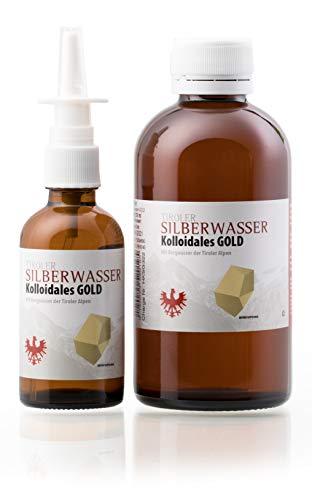 Tiroler Silberwasser Gold Set 1-200ml und 50ml Nasenspray - 2 ppm
