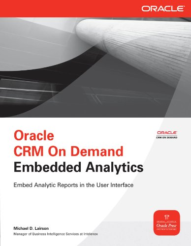 Oracle CRM On Demand Embedded Analytics (Oracle Press) (English Edition)