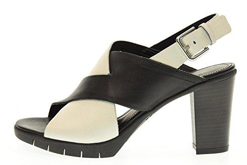 THE FLEXX scarpe donna sandali C611/03 YUMMY BIANCO/NERO Bianco-nero