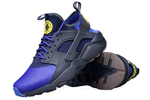 Nike - Basket Air Huarache Run Ult 875841 - 001 Bleu Bleu