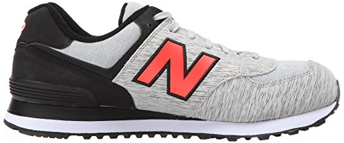 New Balance ML574 D, Baskets mode homme Gris (Tta Grey/Black)