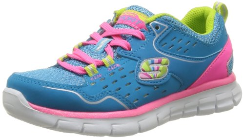 Skechers Synergy Alister, Baskets mode fille Bleu (Blmt)