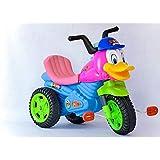 موتسيكل أطفال شكل ديزني بثلاث عجلات ببدال متعدد الالوان