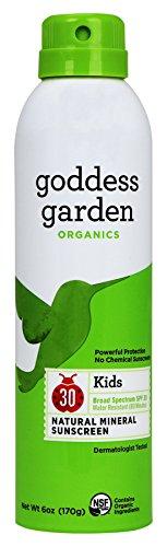 Organics Spf 30 Sunscreen (Goddess Garden Organic Sunscreen Sunny Kids Natural Spf 30 Continuous Spray (1x6 Oz))