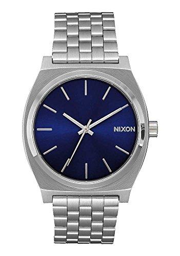 nixon-time-teller-37mm-silver-orologio-unisex