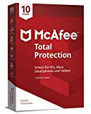 McAfee Total Protection 10 Device (Code in a Box)