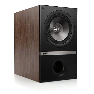 """KEF Q100 Wood loudspeaker - loudspeakers (Universal, 2-way, Tabletop/bookshelf, 2.54 cm (1""""), 13.3 cm (5.25""""), 2.5 cm) in promozione da Polaris Audio Hi Fi"""