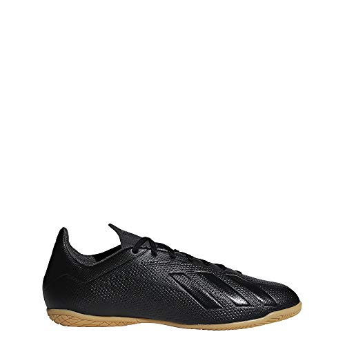 adidas X Tango 18.4 in, Scarpe da Calcetto Indoor Uomo, Nero Negbás/Ftwbla 000, 44 EU