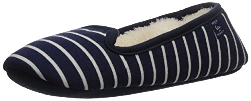 Tom Joule Damen X_dreama Hausschuhe Blau (French Navy Stripe)