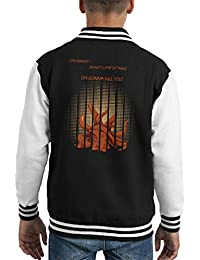 Im Not Chibi Tatsumaki One Punch Man Kid's Varsity Jacket