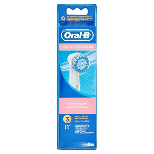 Oral-B Sensitive Clean -  Recambios Sensitive Clean para cepillo de dientes...