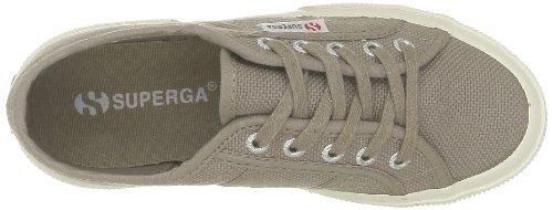 Superga 2750-Jcot Classic, Sneaker Unisex - Bambini, Bianco 18 Grigio (C26 Mushroom)