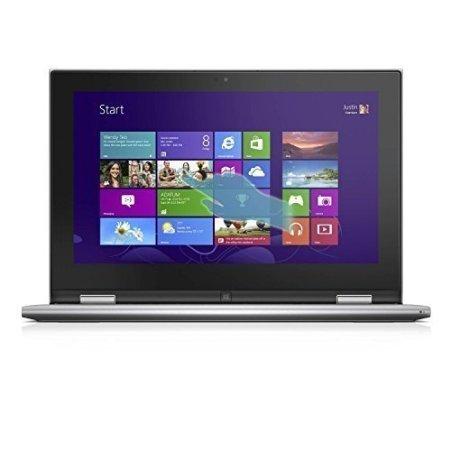 Dell Inspiron 11 3158 Z563101HIN9 11.6-inch Touchscreen Lap Top (Core i3-6100U/4GB/500GB/Windows 10/Integrated Graphics), Silver