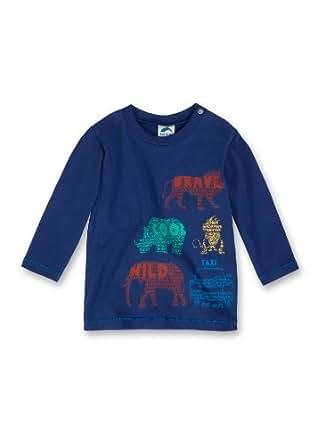 Sanetta Baby - Jungen Sweatshirt 123586, Gr. 86, Blau (5973)