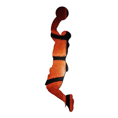 Aufkleber Basketball (Decal Serpent Basketball Player Silhouette Color Vinyl Sport Auto Laptop Aufkleber-15,2cm)