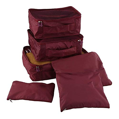 Aufbewahrungsbeutel Reiseveranstalter, Reiseutensilien Verpackungswürfel für die Reise Wasserdichtes Polyester Aufbewahrungsgepäck Aufbewahrungsbeutel für die Reise Kleidung Koffer für Zuhause