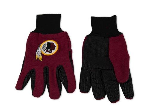Wincraft NFL Handschuhe zweifarbig, Unisex, NFL, rot, Redskins