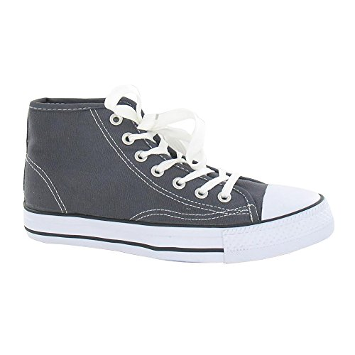 Spot On Womens/Ladies Canvas Baseball Boots Test