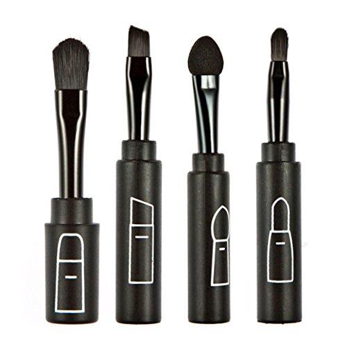 Susenstone Multi-fonction Maquillage Pliage Top Brosse Personnalisée Quatre Pinceau Professionnel Ensembles