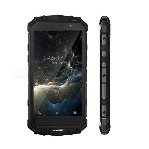 DOOGEE S60 64GB Waterproof Black - DOOGEE S60 Dual SIM -64GB, 6GB RAM, IP68 Waterproof, 4G LTE, Black