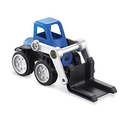Roundhouly 6 Stücke Spielzeug LKW Magnetische BAU Auto Fahrzeug Spielzeug Lernen Spielzeug LKW Montage Spielset für Kleinkind Kinder Jungen