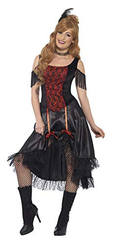 Smiffys 45507XS - Damen Saloon Girl Kostüm,