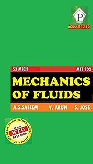 Mechanics of Fluids MET 203 KTU: S3 Mechanical
