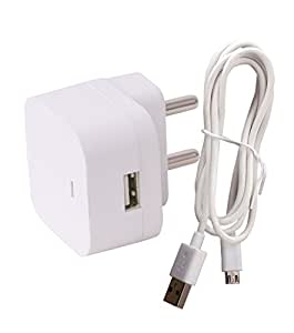 Dhhan Compatible Gionee S96 Charger Adapter 1.5 Amp (1.5 Ampere) Genuine Original High Speed Certified Wall Charger / Travel Charger / Mobile Charger With 1 Meter Micro USB Cable
