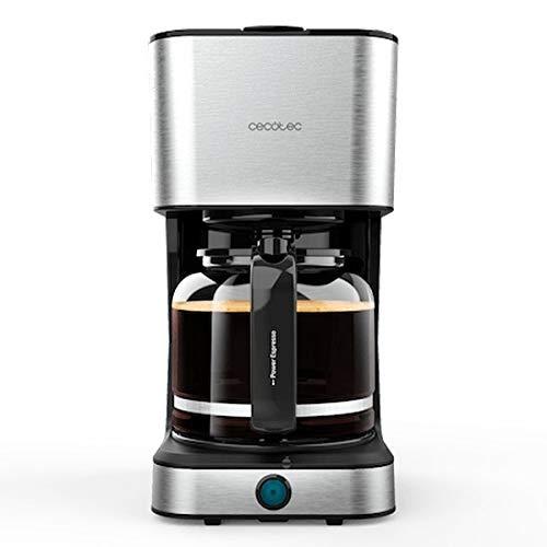 Cecotec Coffee 66 Heat - Cafetera de Goteo, Tecnología ExtemeAroma, Capacidad de 1,5L, Jarra Termoresistente